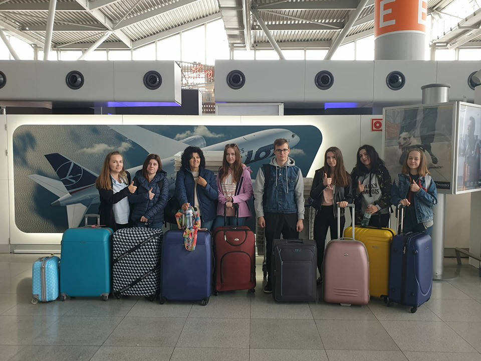 W drodze do Bułgarii na Erasmus+ short-term exchange of groups of pupils 13-17 maja 2019 r. - Obrazek 1