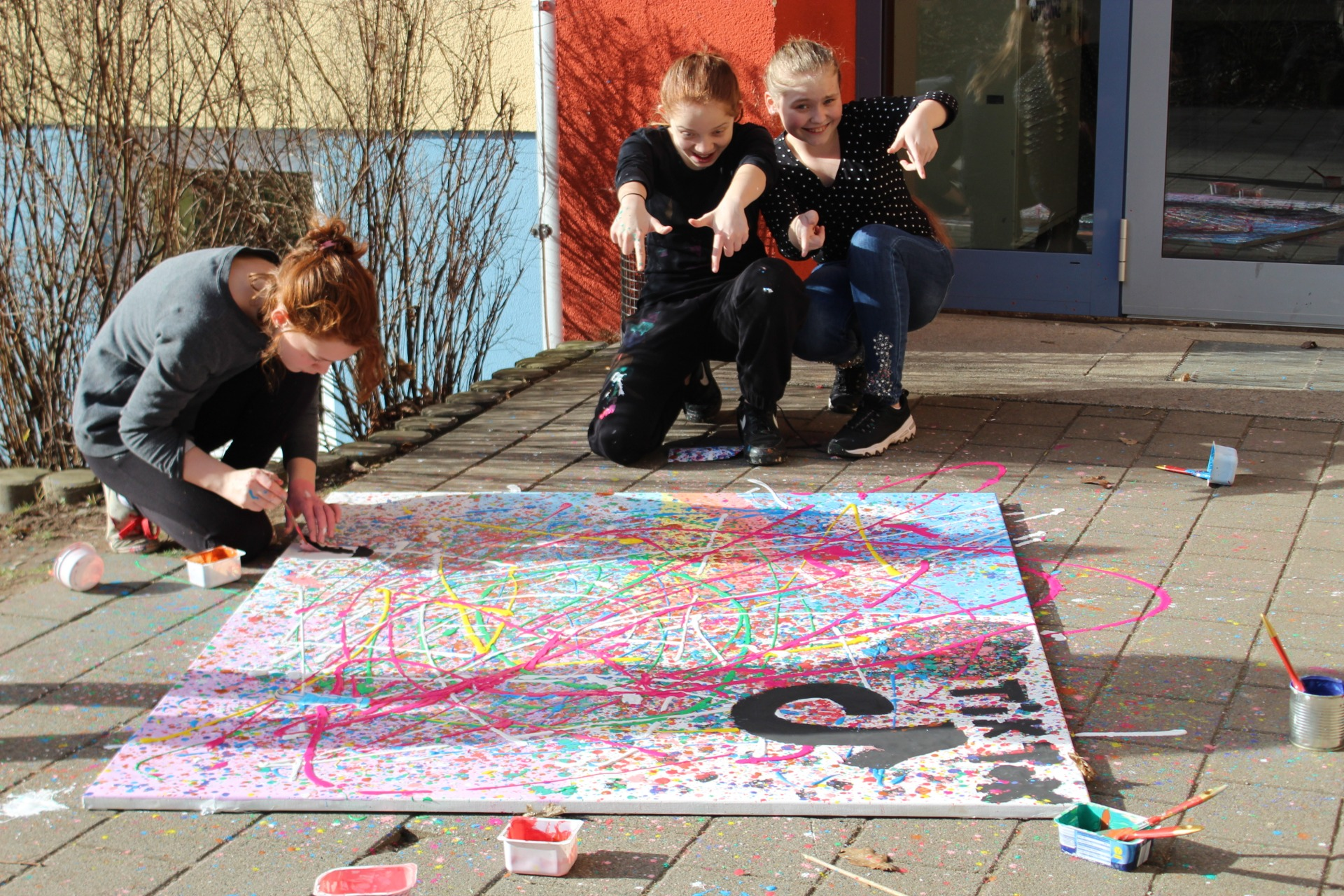 Action-Painting - Bild 3