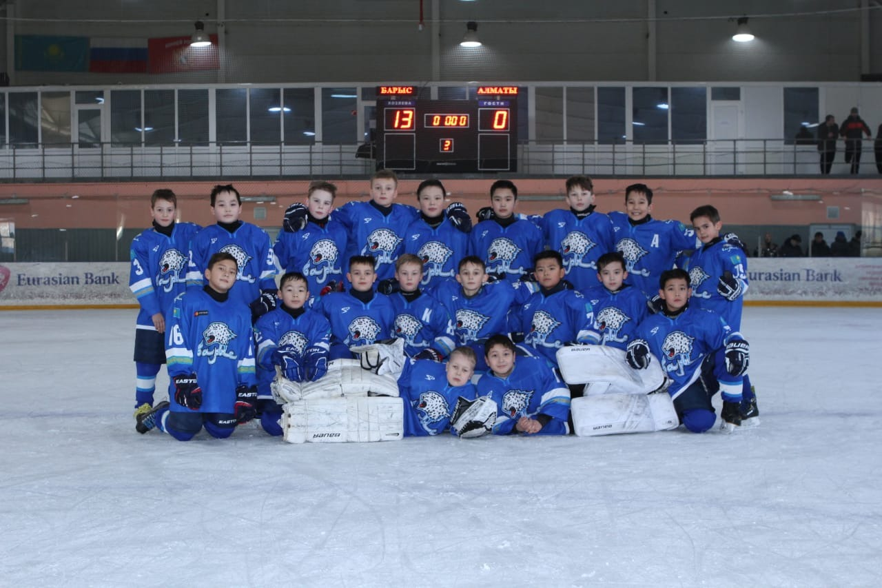 "Hockey club ""Barys"" who plays our student Fedor Kushnikov took first place at Championship of RK among pupils of youth schools - Image 2"