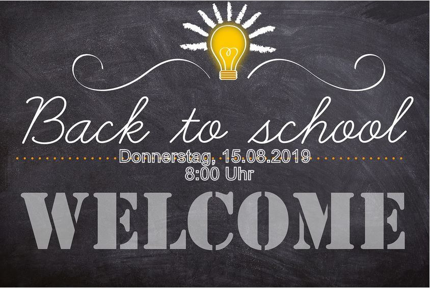 Back to school - Bild 1